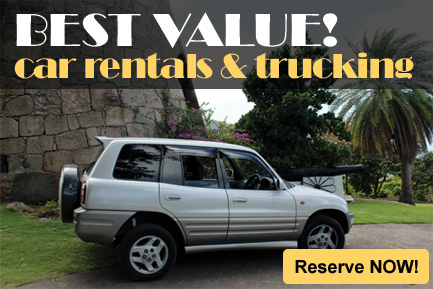 Best Value Car Rental in Montserrat!